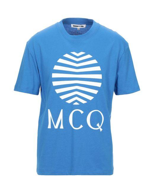T-shirt di McQ Alexander McQueen in Blue da Uomo
