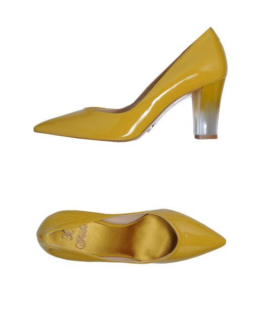 Fabi Yellow Pump