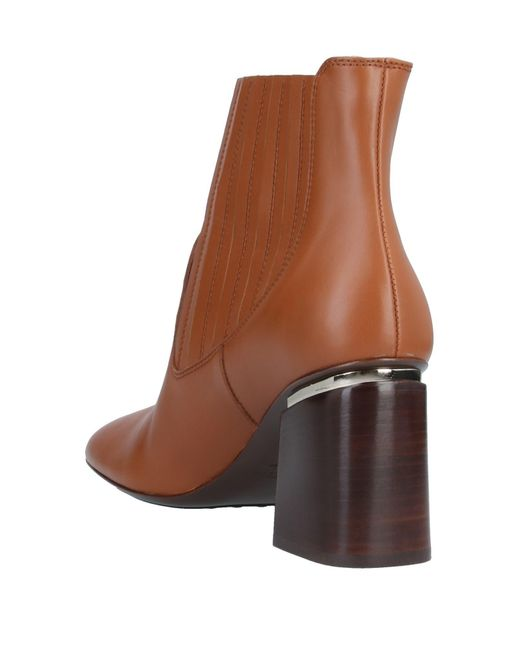 Tod's Brown Stiefelette