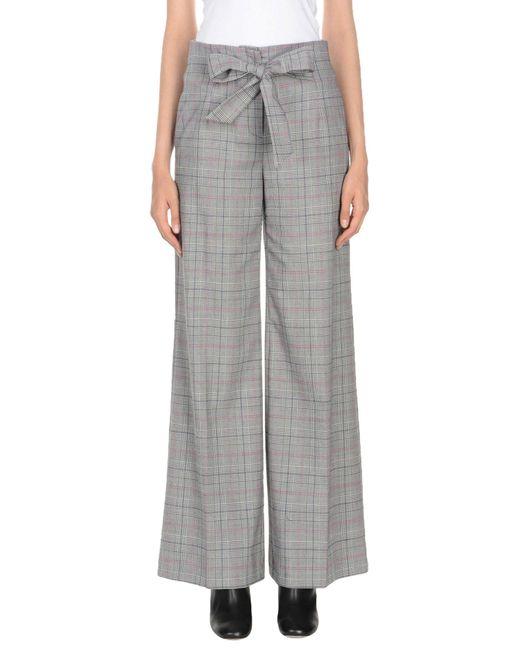 Pinko Pantalones de mujer de color gris
