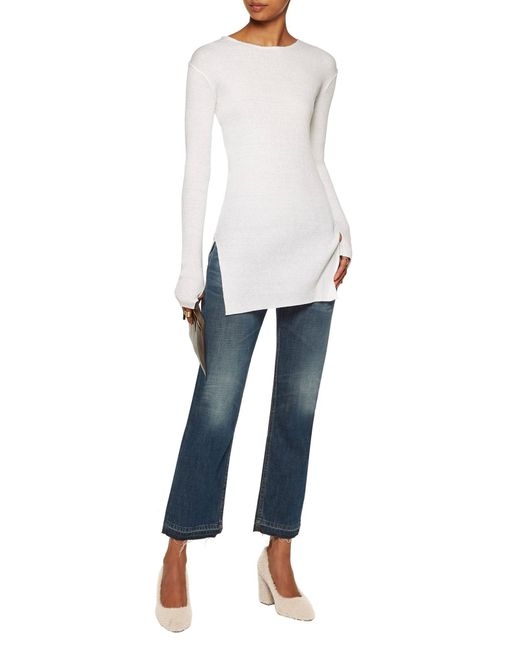 Decolletes di Helmut Lang in White