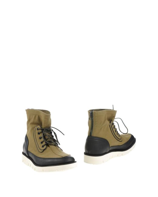 OAMC | Green Ankle Boots for Men | Lyst