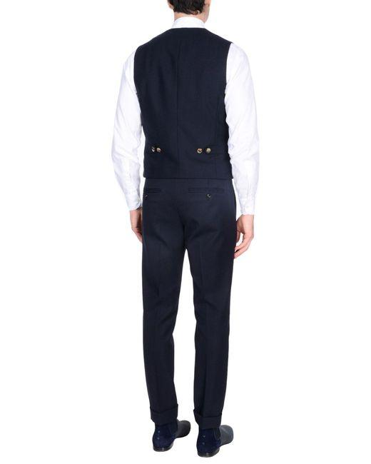 Brunello Cucinelli Blue Vest for men