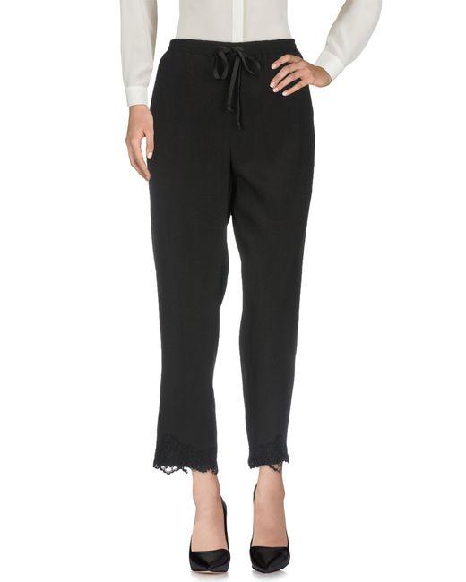 Pantalon Maria Grazia Severi en coloris Black