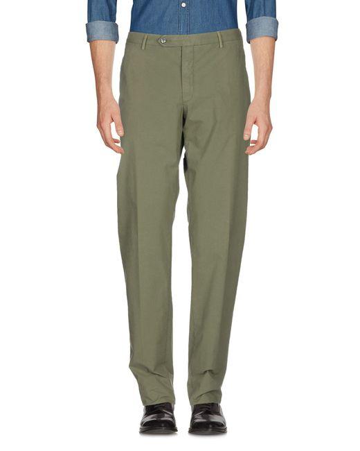 Pantalone di Zanella in Green da Uomo