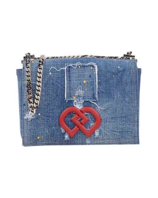 DSquared² Blue Cross-body Bag