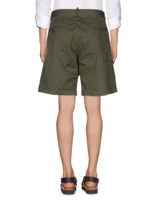 Bermuda DSquared² pour homme en coloris Green