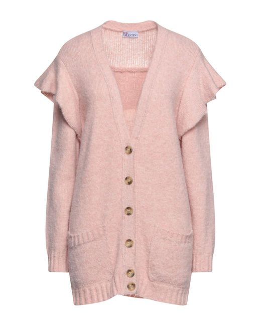Cardigan di RED Valentino in Pink