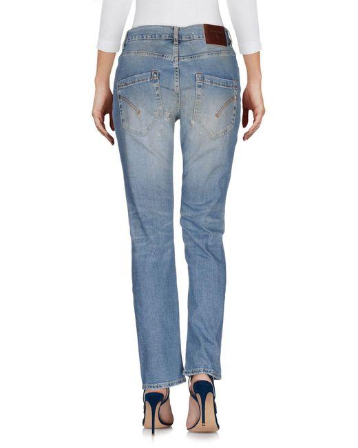 Pantalon en jean Dondup en coloris Blue
