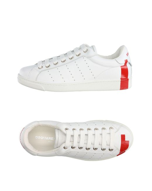 DSquared² - White Low-tops & Sneakers for Men - Lyst
