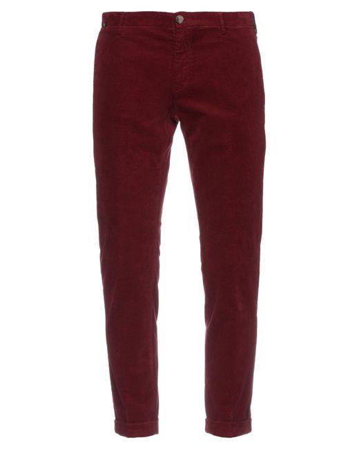 Pantalone di AT.P.CO in Red da Uomo