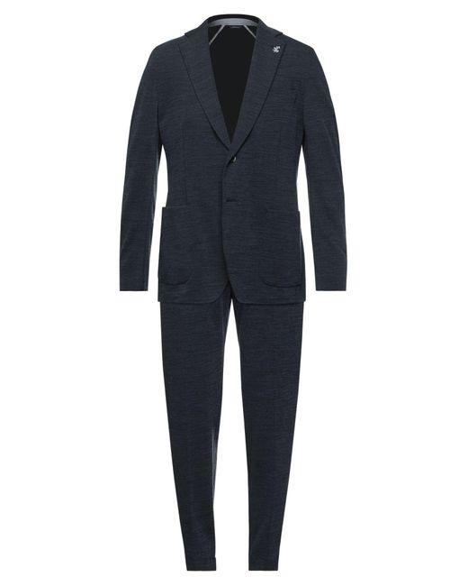 Tombolini Blue Suit for men