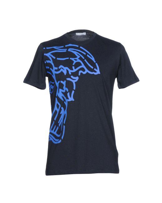 Versace Blue T-shirt for men