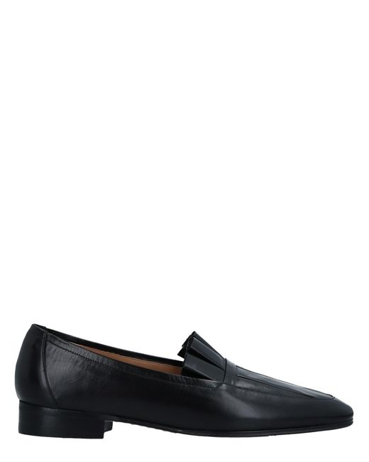 The Row Black Loafer