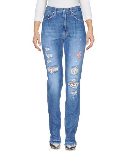 People Blue Denim Pants