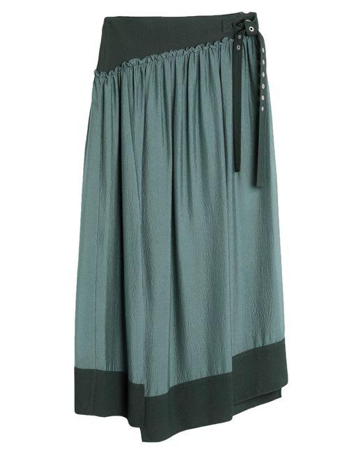 3.1 Phillip Lim Green Midi Skirt