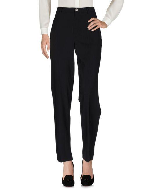 Erika Cavallini Semi Couture - Black Casual Trouser - Lyst