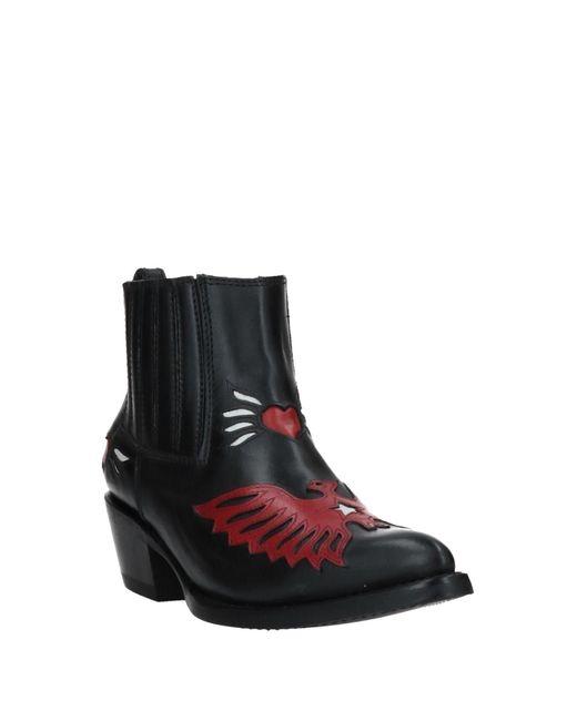 Botines de caña alta Ash de color Black