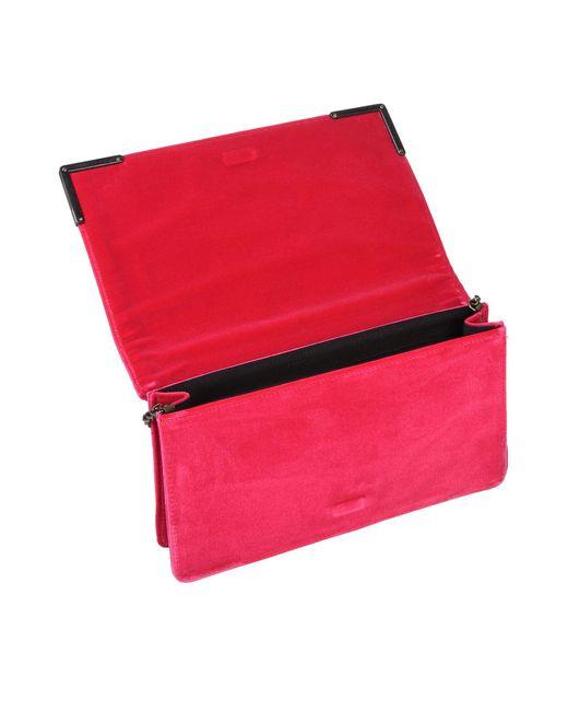 Bolso con bandolera Tipe E Tacchi de color Red