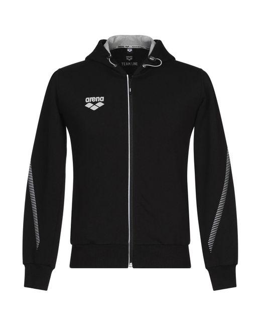 Arena Black Sweatshirt for men