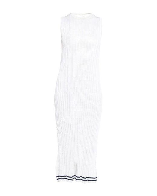 Maison Margiela White 3/4 Length Dress