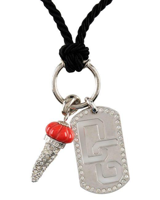 Dolce & Gabbana | Black Necklace | Lyst