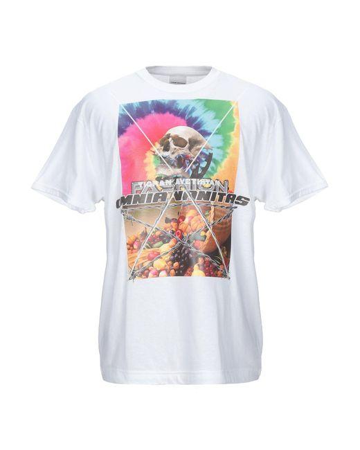 Tigran Avetisyan T-Shirt mit Logo-Print in White für Herren