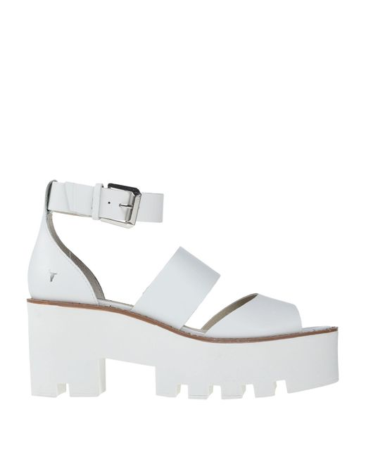 Windsor Smith Sandalias de mujer de color blanco