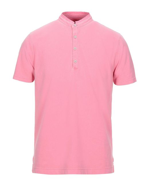 T-shirt di Heritage in Pink da Uomo