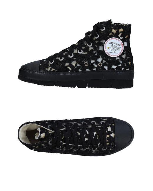 Soya Fish - Black High-tops & Sneakers - Lyst