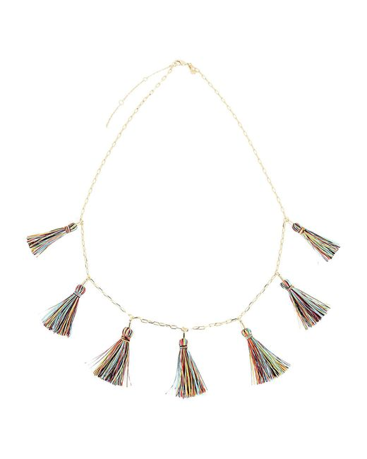 Rebecca Minkoff - Metallic Necklace - Lyst