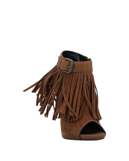 Giuseppe Zanotti Brown Ankle Boots