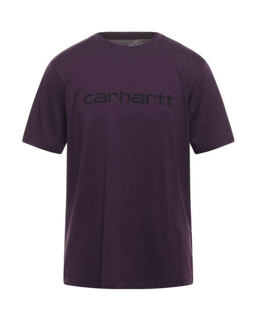 T-shirt di Carhartt in Purple da Uomo