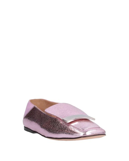 Mocassins Sergio Rossi en coloris Pink