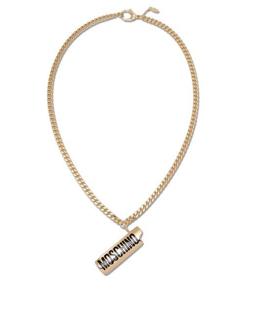 Moschino - Metallic Necklaces - Lyst