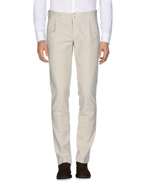 Pantalone di Incotex in Natural da Uomo