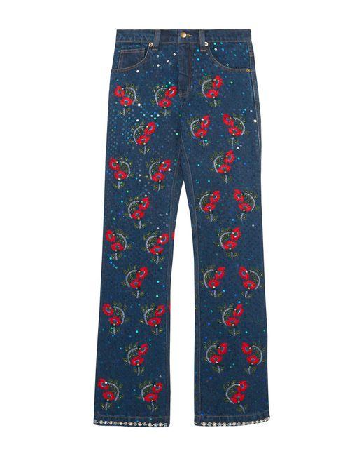 Pantalones vaqueros Ashish de color Blue