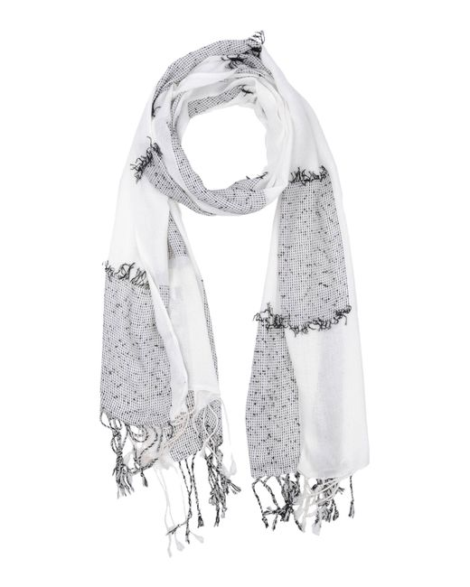 French Connection | White Oblong Scarf | Lyst