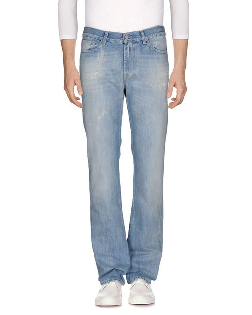 7 For All Mankind - Blue Denim Pants for Men - Lyst