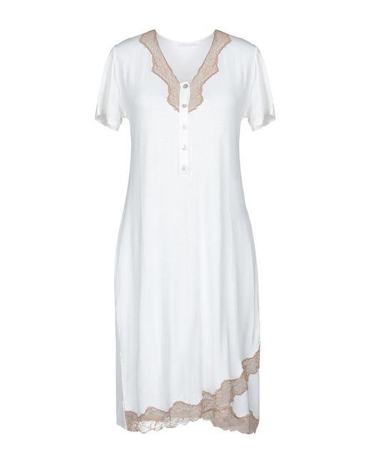 Verdissima - White Nightdress - Lyst