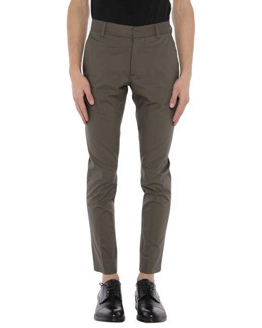 Pantalones Grey Daniele Alessandrini de hombre de color Green