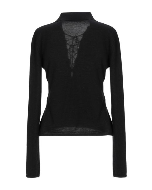 Pullover Saint Laurent en coloris Black