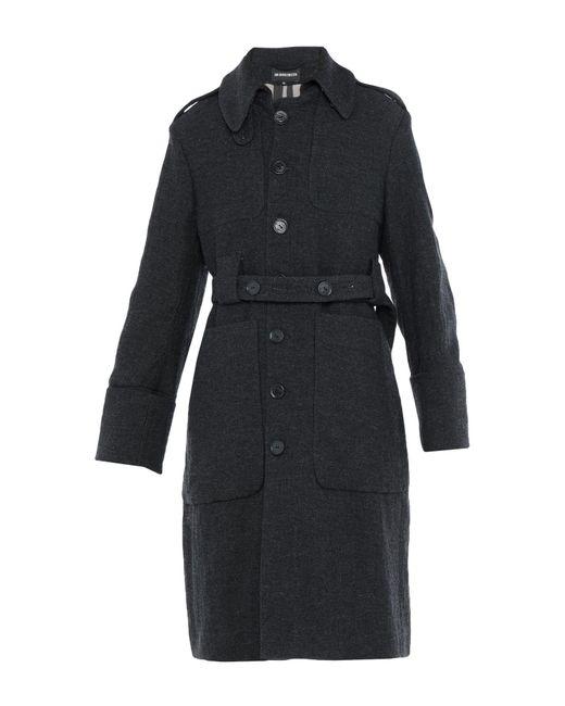 Ann Demeulemeester Gray Coat for men