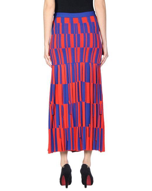 Proenza Schouler Red Long Skirt