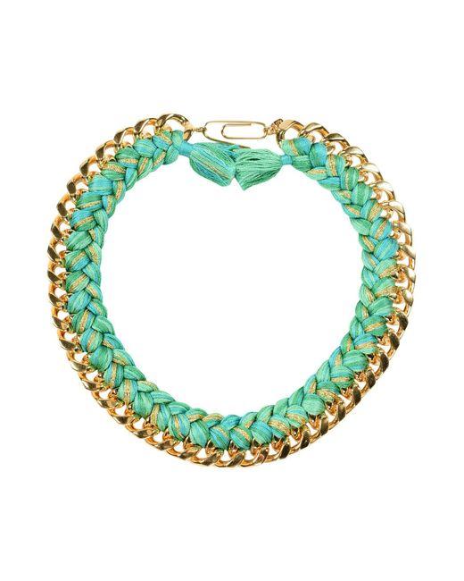 Aurelie Bidermann - Green Necklace - Lyst