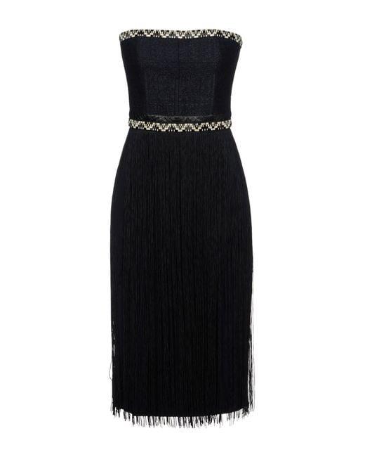 Tamara Mellon Black Knee-length Dress