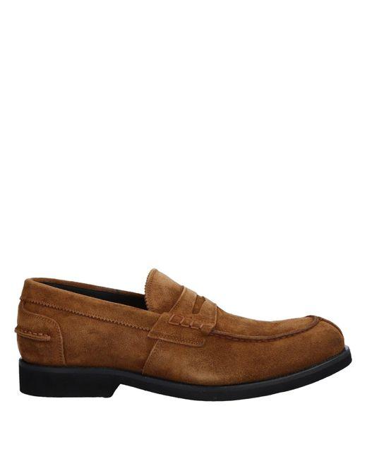 Alberto Guardiani Brown Loafer for men