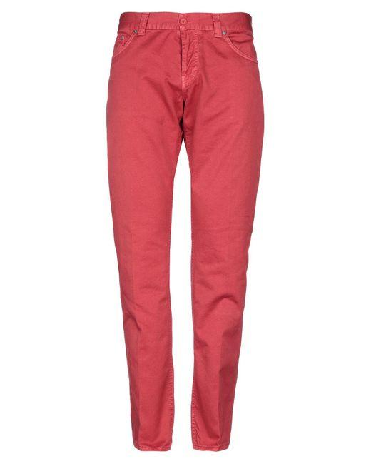 Pantalone di Dondup in Red da Uomo