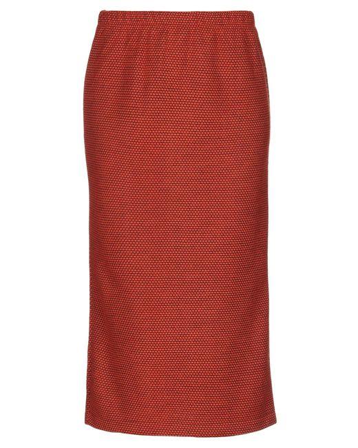 Stussy Orange 3/4 Length Skirt