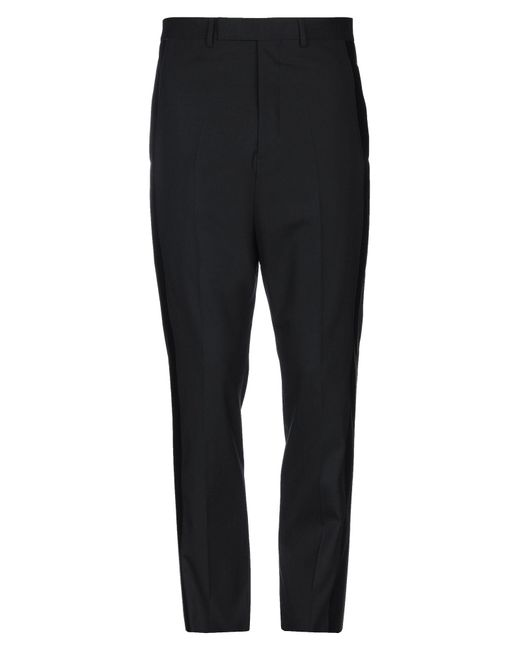 Rick Owens Black Casual Trouser for men